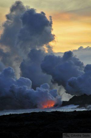 De volta ao Kilauea