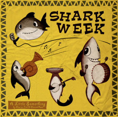 Cartoons da Shark Week