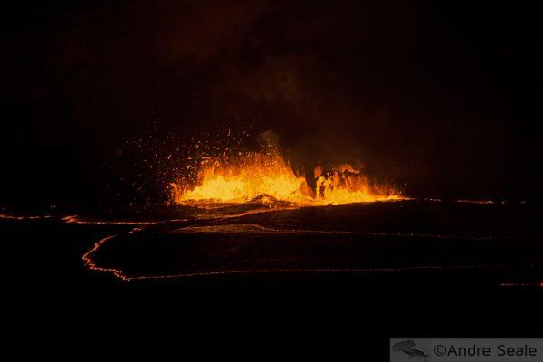 Infrassom do vulcão Kilauea